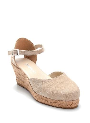Derimod Kadın Sandalet(2018) Casual Taş
